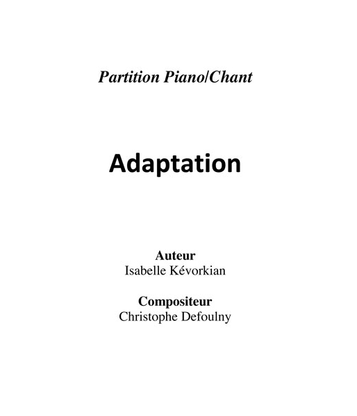 Adaptation (1:28)