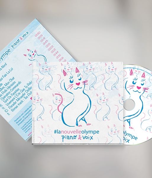 CD #lanouvelleolympe piano-voix