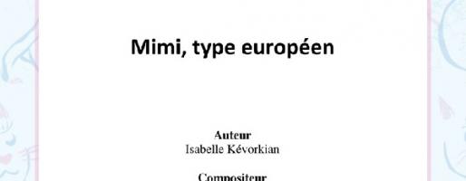 Mimi, Type Européen (3:16)